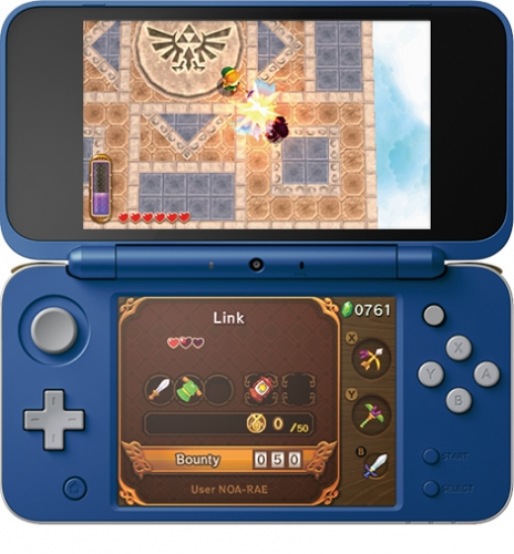 2ds-xl-hylian-shield-front